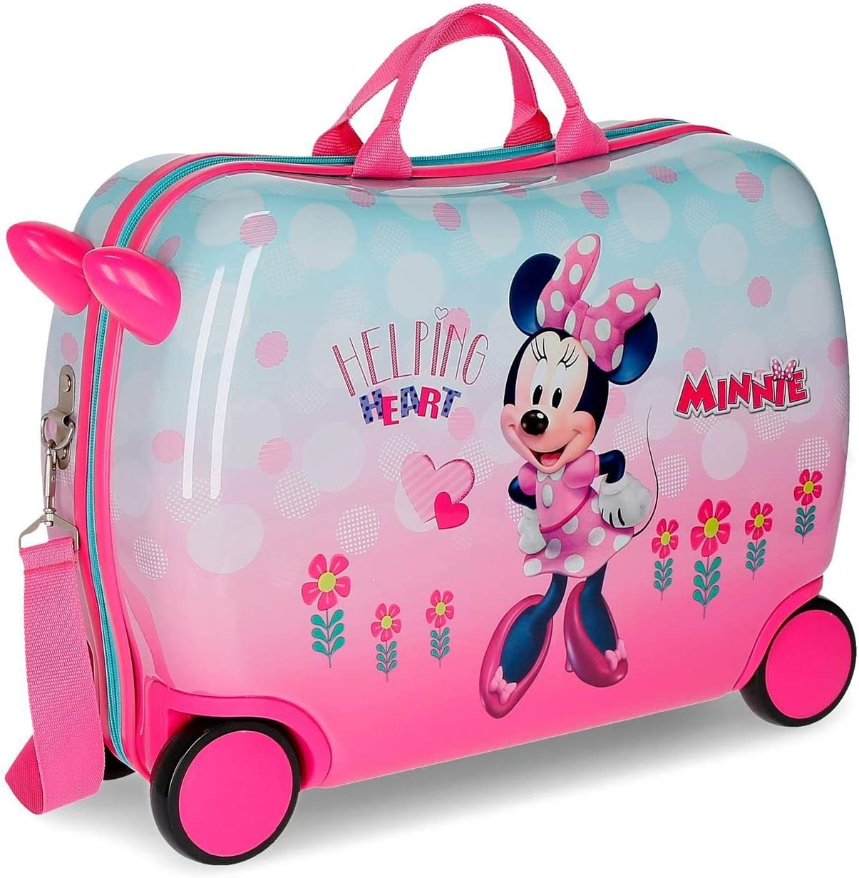Disney Minnie Heart Kindermode Rosa