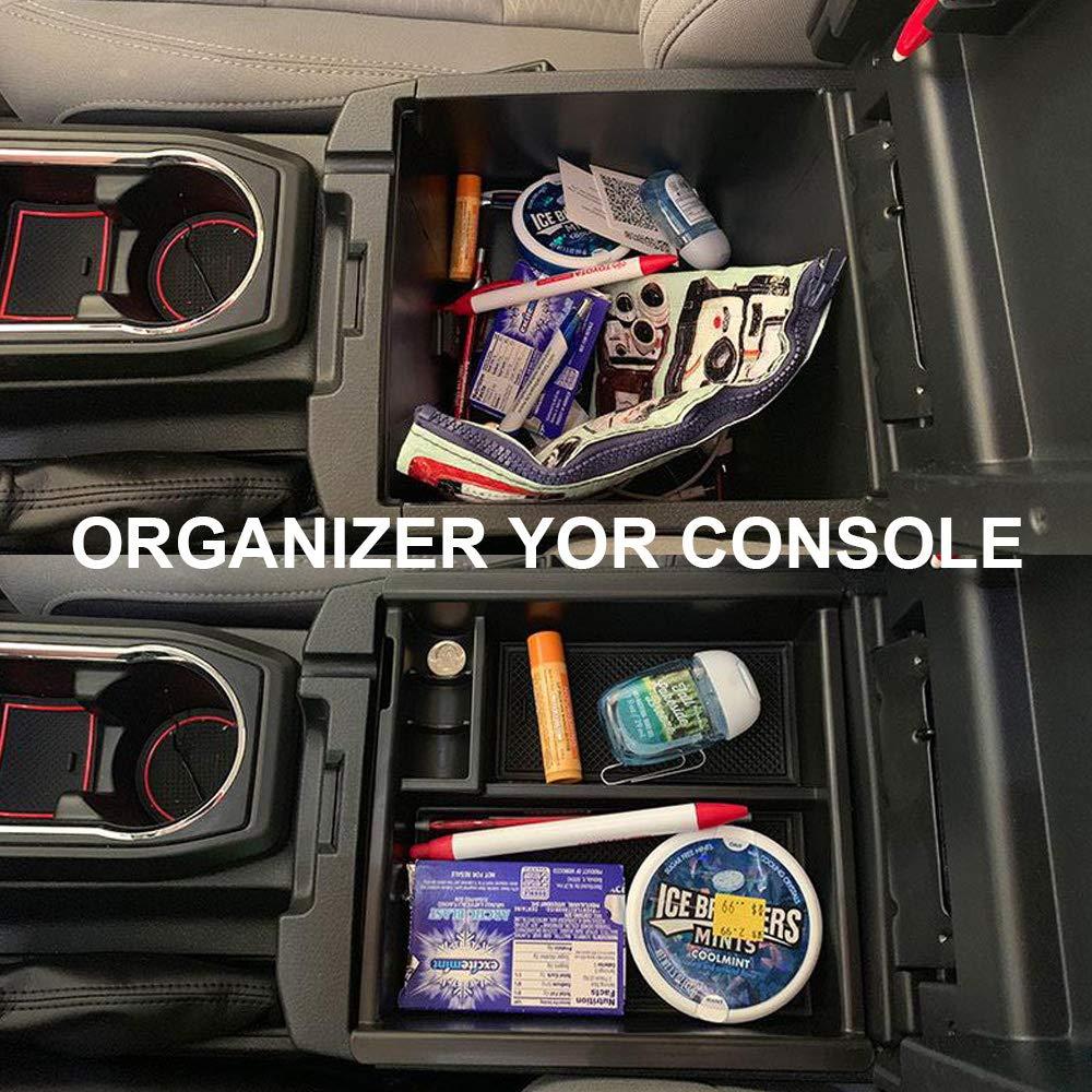 EDBETOS Glove Box Organizer for Toyota Tacoma 2016-2019 Tacoma Accessories
