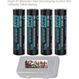Olight S1R customized RCR123A 5C, S2R S30R 3200mAh 3600mAh 18650, X7 High Discharging Current HDC 3500mAh 18650, Rechargeable for S1 S2 S10R M1x R50 Flashlights
