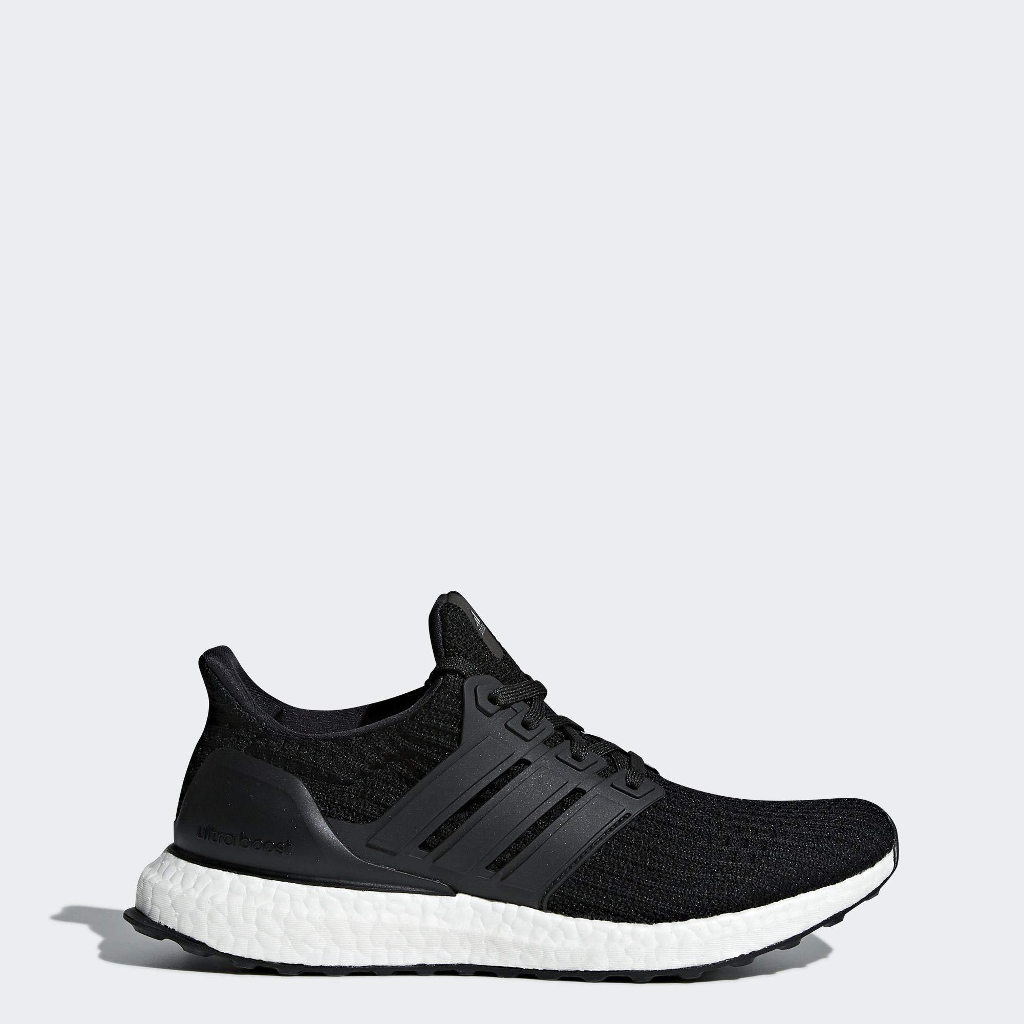adidas Women's Ultraboost w Road Running Shoe, Core Black/Core Black/Core Black, 10 M US by adidas