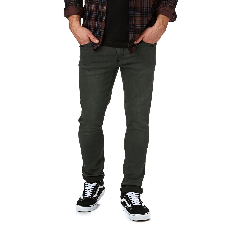 TALLA 34. Volcom 2x4 - Pantalones Vaqueros Hombre