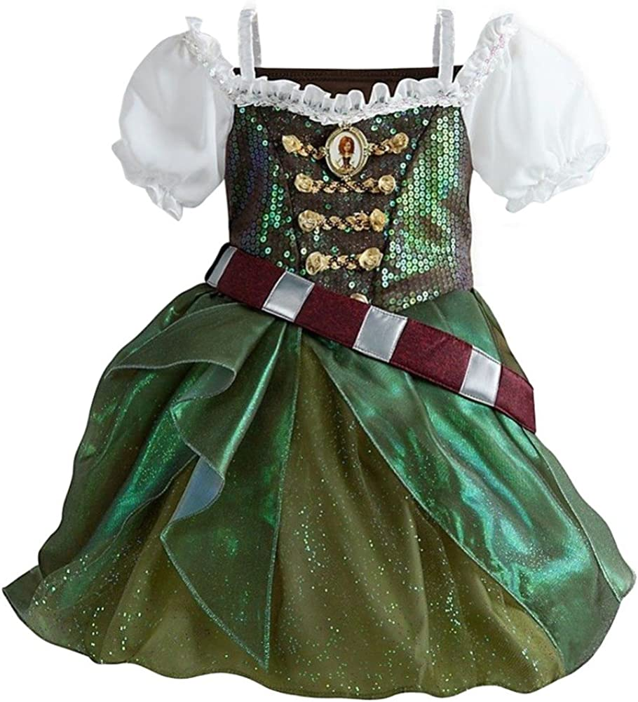 Disney Store Zarina el pirata hada disfraz vestido Campanilla ...