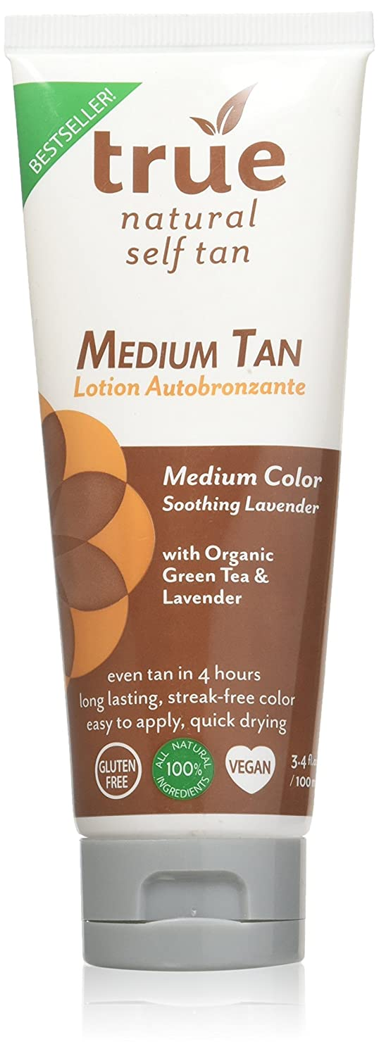 True Natural Face and Body Self Tanner, 4 ounce Everready First Aid B0051PLB6Q