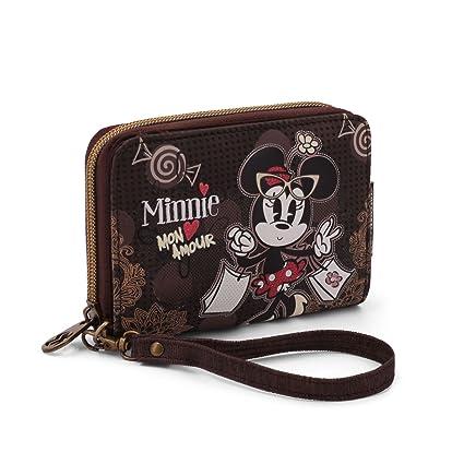 Karactermania Minnie Mouse Mon Amour Monederos, 16 cm, Marrón