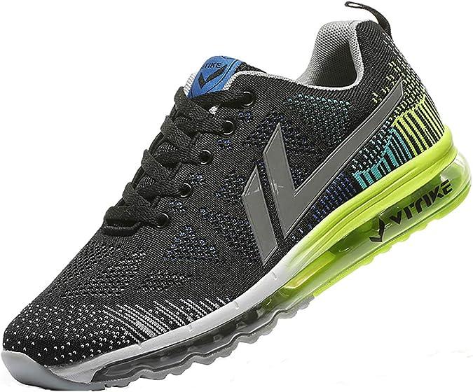 VITIKE Zapatillas Running para Hombre Aire Libre y Deporte Transpirables Casual Zapatos Gimnasio Correr Sneakers: Amazon.es: Zapatos y complementos
