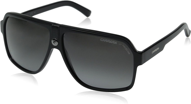 Carrera CA33/S Pilot Sunglasses, Black Frame/Gray Gradient Lens, 62 mm: Carrera: Shoes