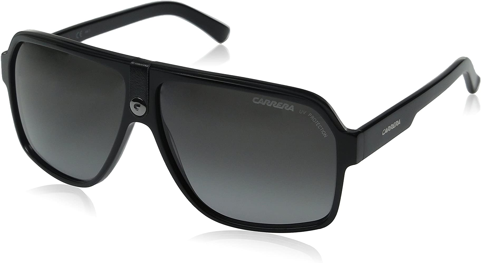 afe4aee2fd15 Amazon.com: Carrera 33/S Aviator Sunglasses BLACK: Carrera: Clothing