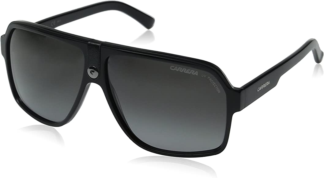 f214829f4b1a Amazon.com: Carrera 33/S Aviator Sunglasses BLACK: Carrera: Clothing