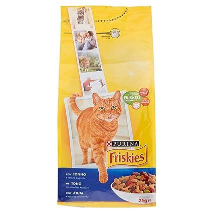 Friskies Adult pienso para el Gato, imantado con y Verduras aggiunte, 2 kg