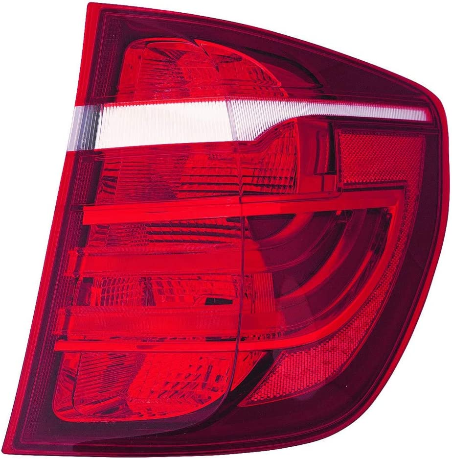 For BMW X3 Rear Reflector 2011 12 13 2014 Driver Side w//o Molding Package For BM1184104 63 14 7 217 315