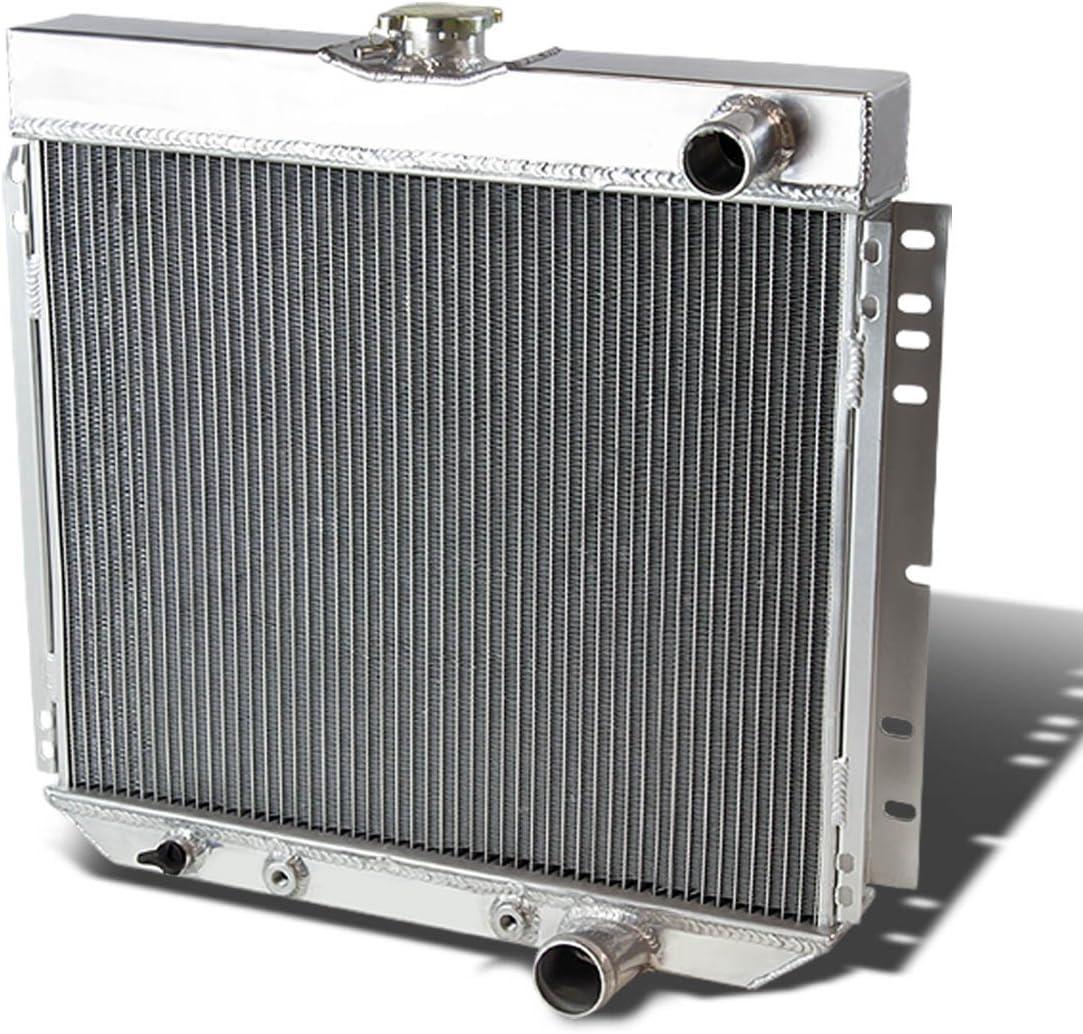 DNA Motoring RA-FM67-3 Aluminum Racing Radiator