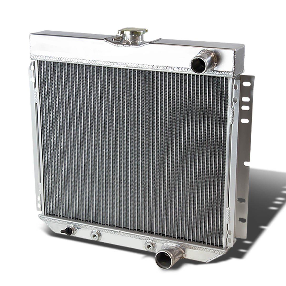 DNA Motoring RA-SBC64-3 Aluminum Racing Radiator