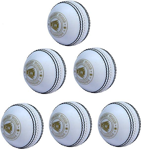 Spin Cricket Ball Red Indoor Practice Backyard /& Garden Cricket Play Set 2 Balls