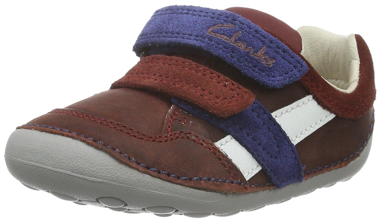 Clarks Kids Tiny Zakk, Chaussures de Naissance Mixte Bébé Chaussures de Naissance Mixte Bébé Marron (Brown) 18.5 EU 261205386