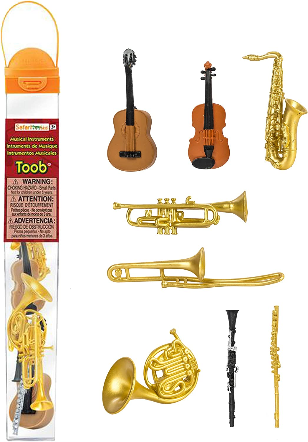 Safari Ltd Musical Instruments TOOB