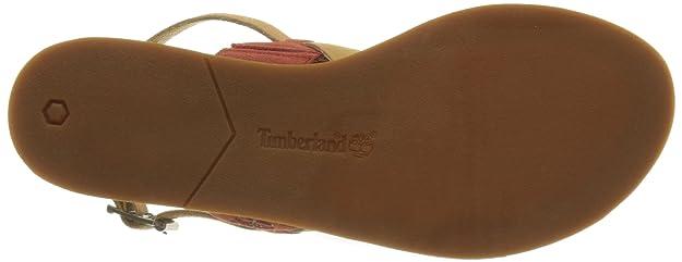 Timberland Carolista Slingbacktandori W, Sandales Femme, Rouge (Tandori Spice Suede W/Doe Dry Gulch), 37.5 EU