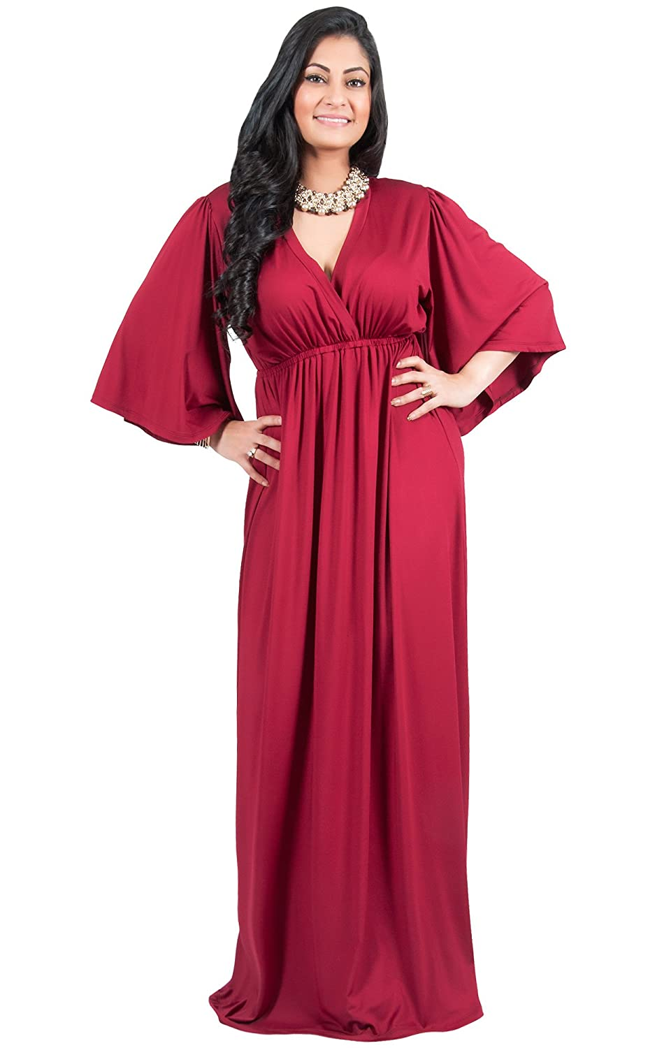 d134d4dff47 GARMENT CARE - Hand or machine washable. Can be dry-cleaned if desired.  PLUS SIZE - This great plus size maxi dress is perfect for women with ...