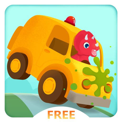 (Dinosaur Car Free - Monster Truck Racing and Simulator Games for Kids)