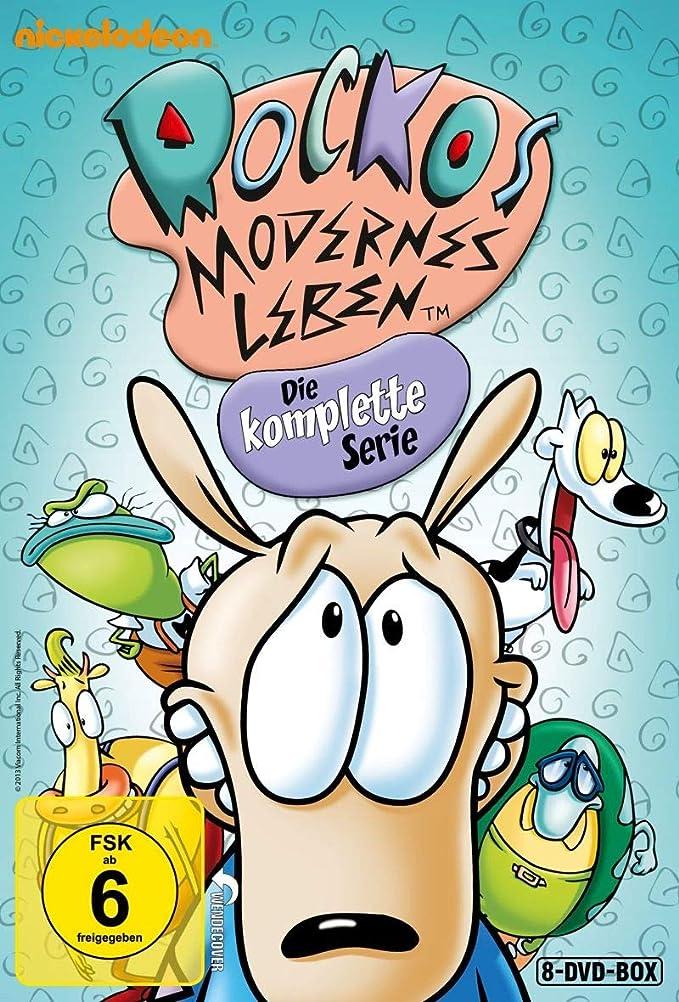 Rockos modernes Leben - Die komplette Serie (Limitiert im Hartkarton inkl. 3D-Coverkarte, Stickern, Postkarten, Poster und DVD-Extras) [Limited Edition] [Alemania]