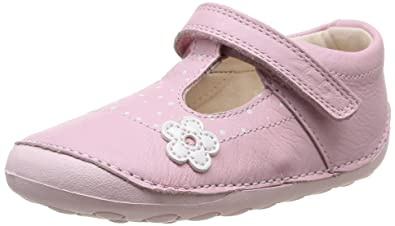 ab25ca3da248 Clarks Little Linzi, Unisex Babies' First Walking Shoes: Amazon.co ...