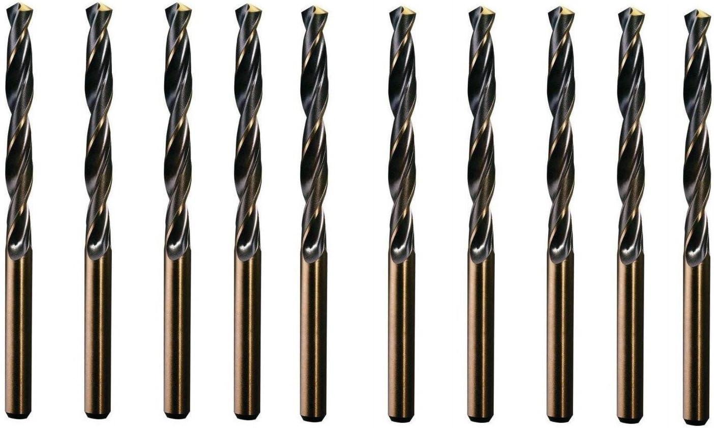 /Brocas para M5/ CNC Calidad 10/unidades/ /Din 338 /Broca espiral Di/ámetro 4,2/mm/ /Fabricado en Alemania/