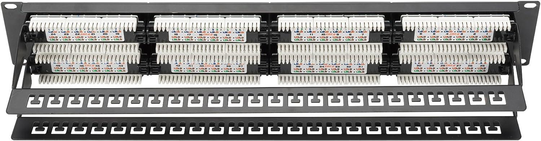 Digitus Dn 91648u Cat6 Patch Panel Schwarz Computer Zubehör