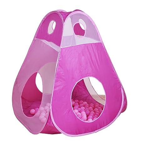 Knorrtoys Com 55305 Tenda A 4 Lati Con 100 Palline.Knorrtoys 55307 Tenda Brody Girl Con 100 Palline