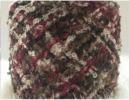 Hilo de coser para tejer hilo de algodón para lazos de ganchillo ...