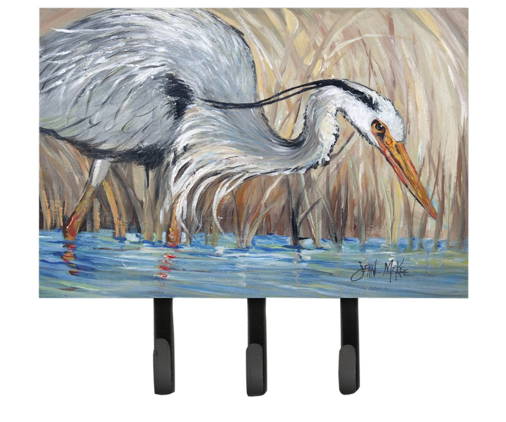 Carolines Treasures JMK1013TH68 Blue Heron in The Reeds Leash or Key Holder Large Multicolor