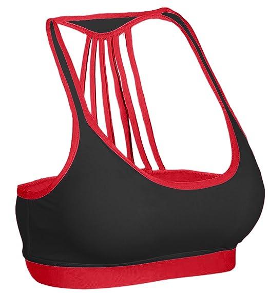 84dc22cc150f4 Zaiai Nursing Bras for Women Sports Bra Red 36 at Amazon Women s Clothing  store