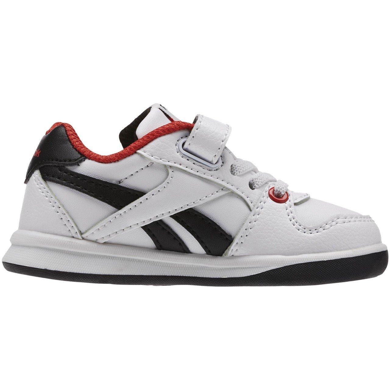 Reebok Étape N « Éclair Ii, Chaussures Bébé Unisexe Premières Étapes, Blanc / Rouge / Noir (rouge / Noir Blanc / Moteur), 22 Eu
