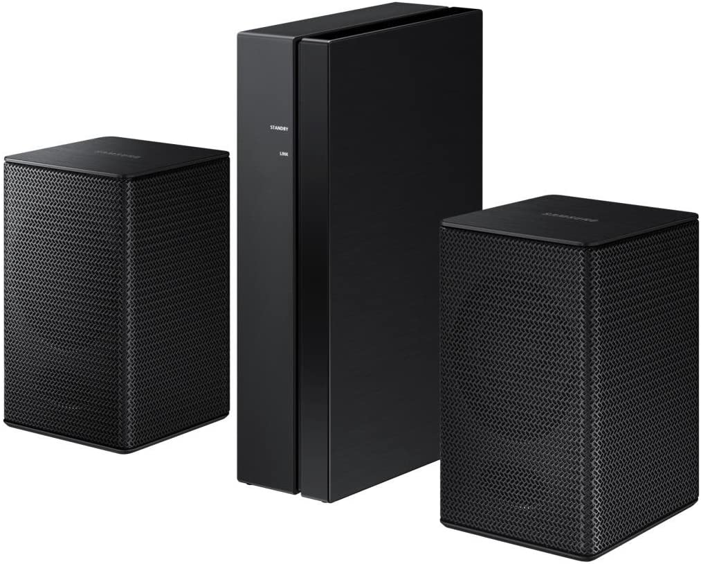 Samsung SWA-8500S/EN Wireless Rear Altavoz Kit para M550, M4500, M450, M360 - Negro