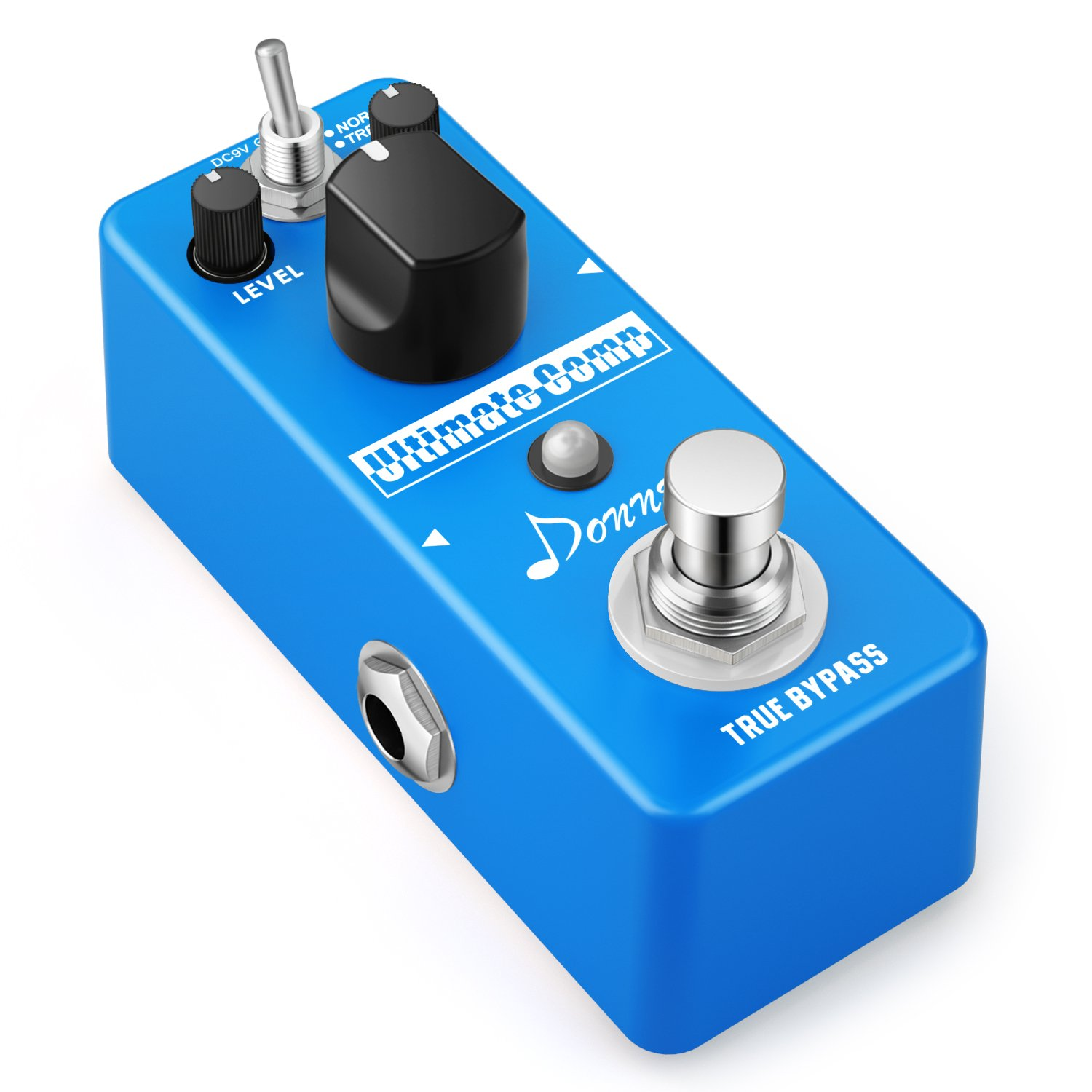 Donner Compressor Pedal Ultimate Comp Guitar Effect Pedal by Donner