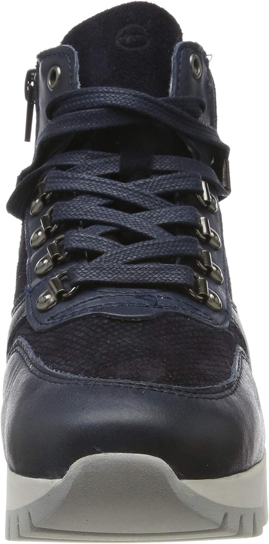 Tamaris Damen 1-1-25252-23 Hohe Sneaker Blau Navy 805