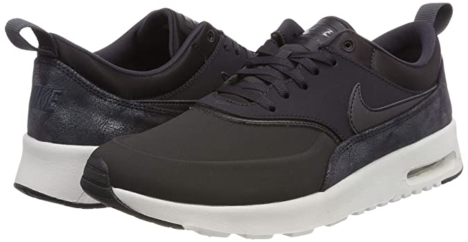 huge discount b911f 4cfa3 Amazon.com   Nike Air Max Thea Premium Oil Grey Running Womens   Road  Running