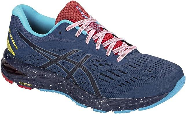 ASICS Gel-Cumulus 20 Le 1011A239-400, Zapatillas de Running para Hombre, Azul Navy 1011a239 400, 50.5 EU: Amazon.es: Zapatos y complementos