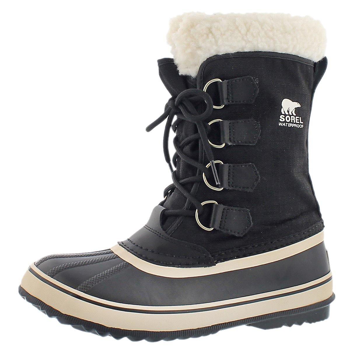 Sorel Women's Winter Carnival Waterproof Winter Boot Black 9 M US