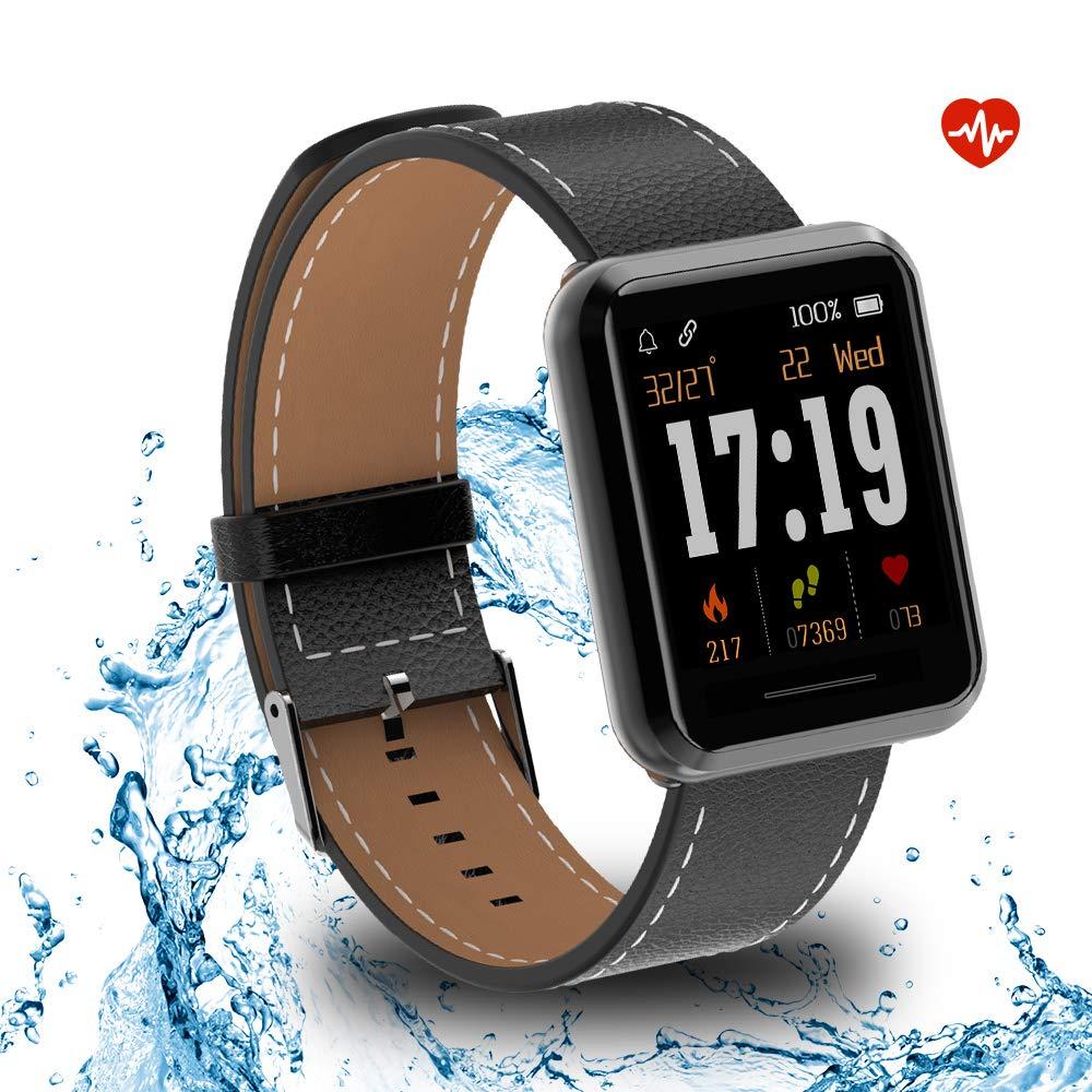 Kospet Smartwatch, Impermeable Reloj Inteligente con Podómetro ...
