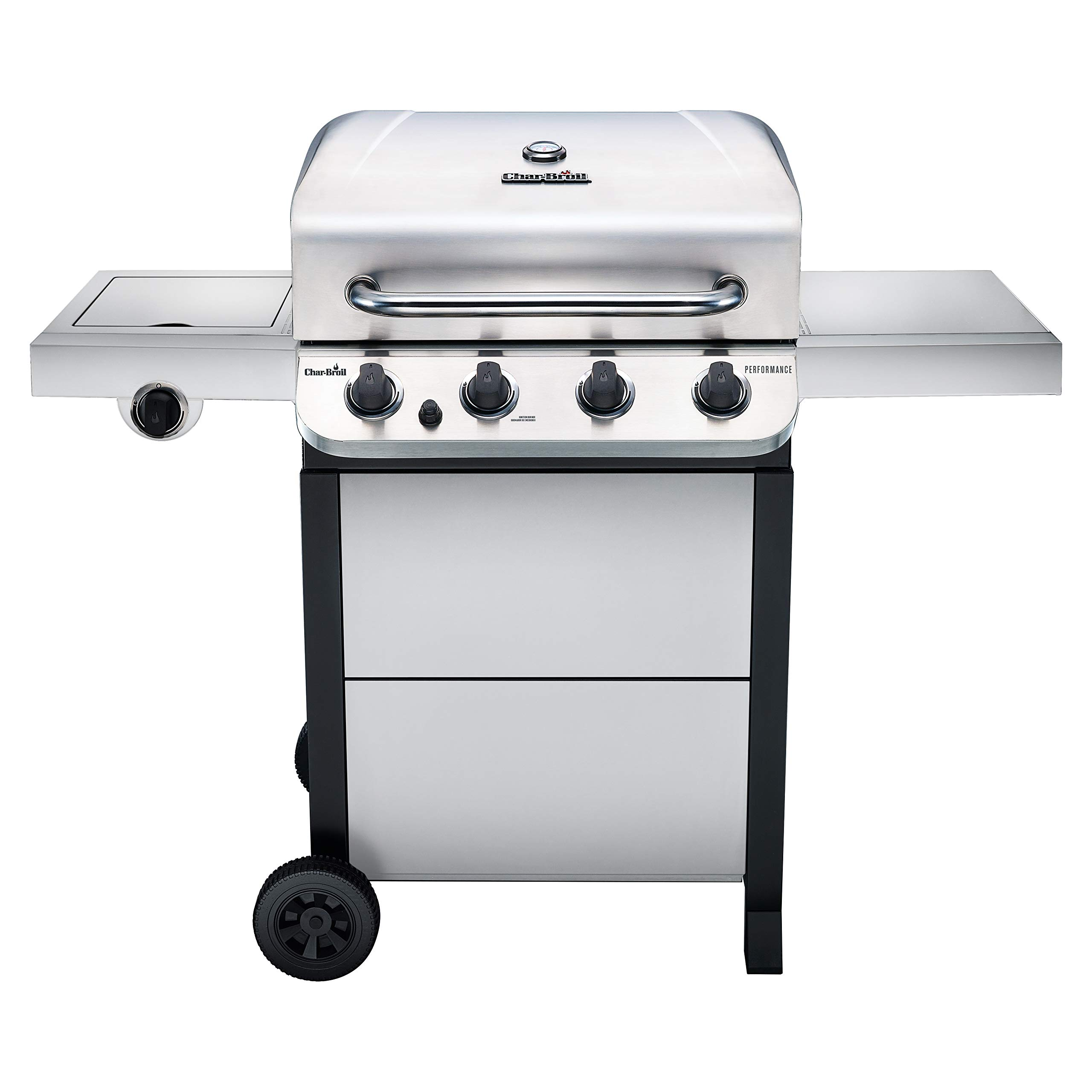 Char-Broil 463377319 Performance Stainless Steel 4-Burner Cart Style Gas Grill by Char-Broil
