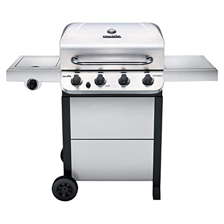 1. Char-Broil 463377319 Performance Stainless Steel 4-Burner Cart Style Gas Grill