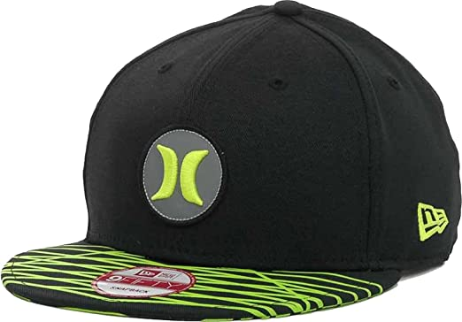 Hurley Open Fuse Nike Dri-FIT New Era 9FIFTY Snapback Cap Hat (One Size c39ec422b4b
