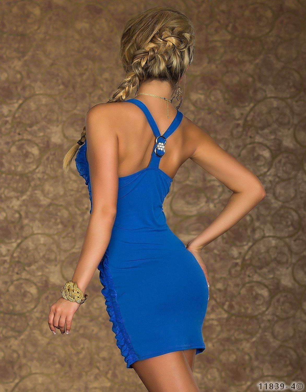 3222?figurbetonender Plain Vest Mini Dress Dress Dress Gr. 34?36