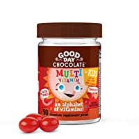 Good Day Chocolate Kids Multivitamin Chewable Daily Supplement (50 Count)