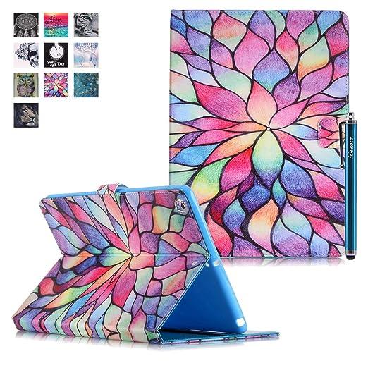93 opinioni per Custodia per iPad Mini 1/2/3, Deenor Colorato La pittura e Elegante Portafoglio