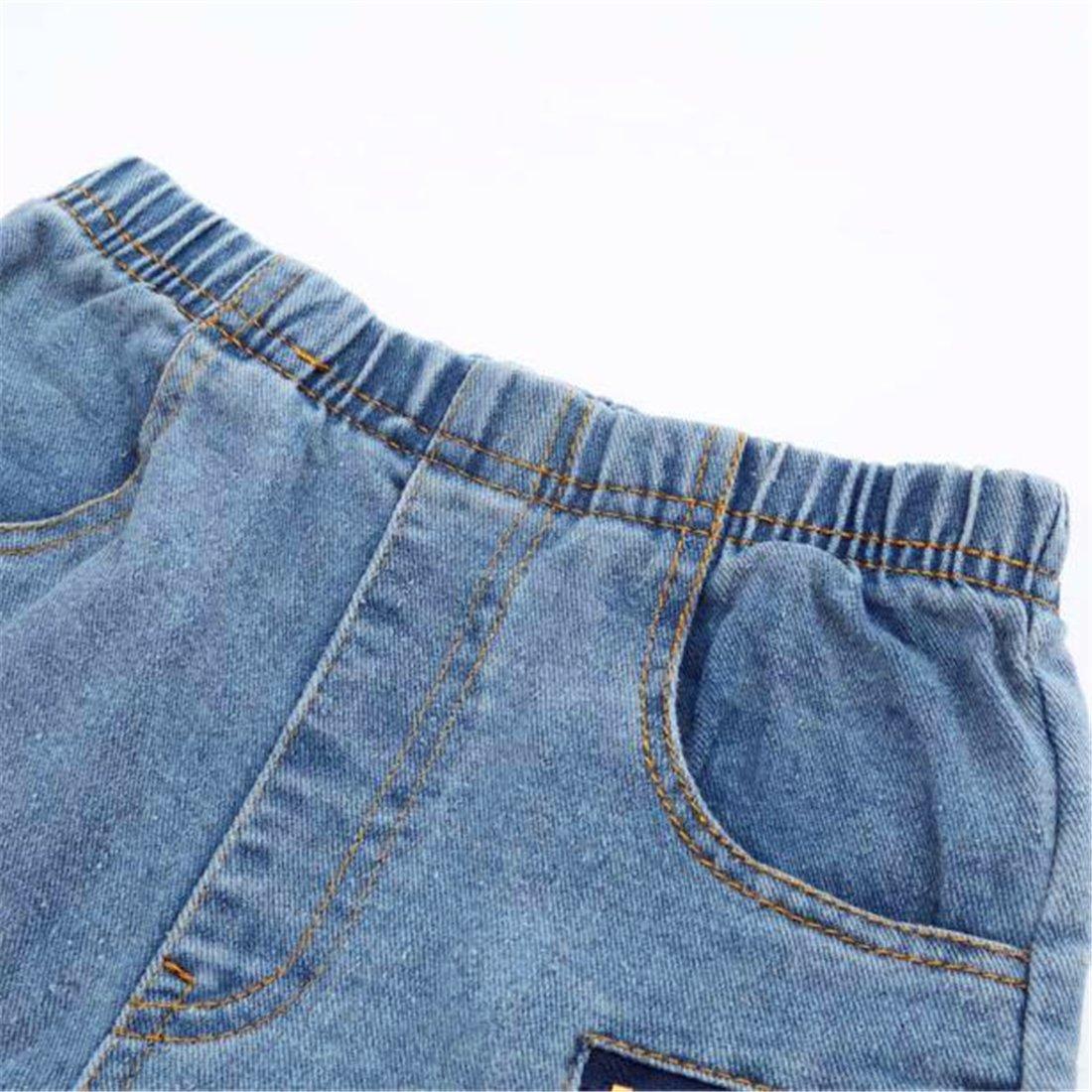 HANYI The Boy Zipper Stretch Slim Pale Denim Jeans Trousers Pants HANYI-00167