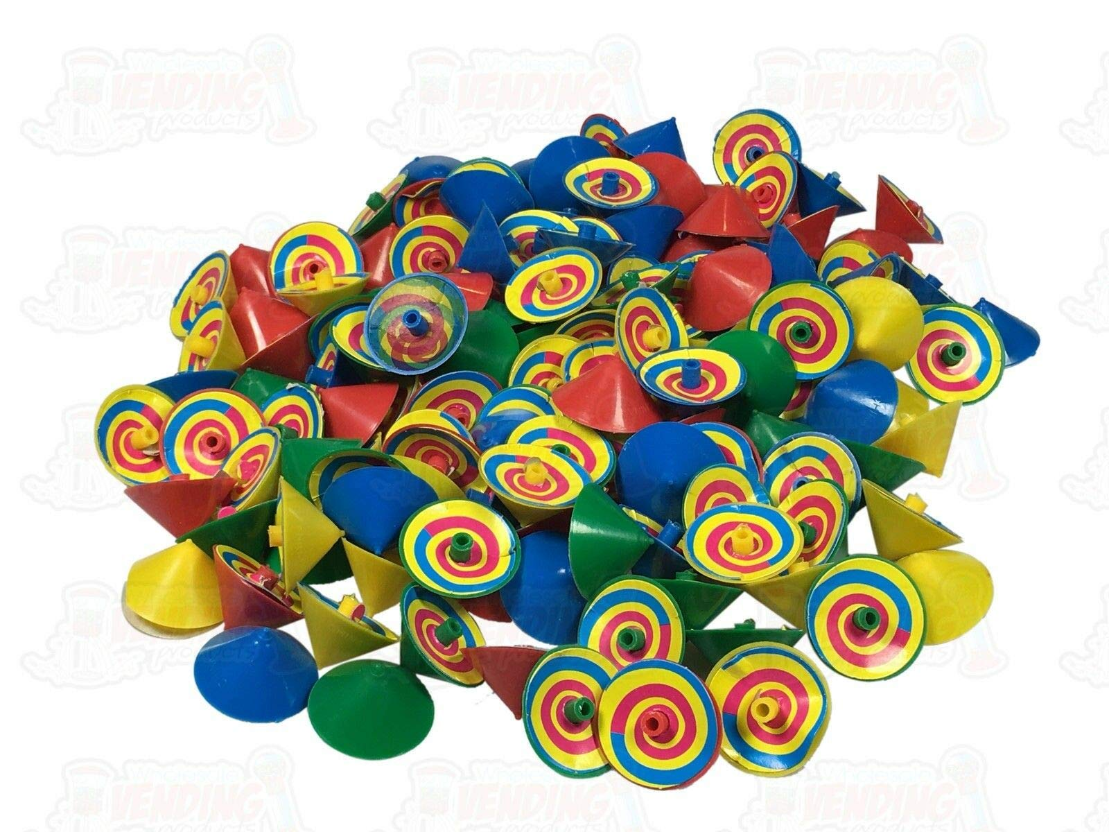 144 Spinning Paper Tops Cool Visual Effects