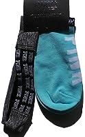 Victoria's Secret Women's PINK no-show socks & headband set Seafoam blue