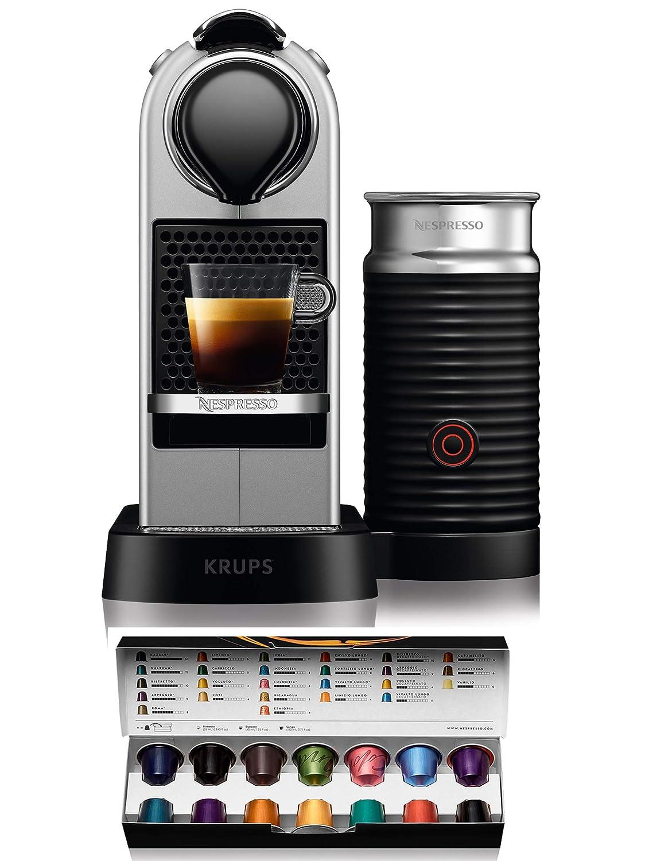 Nespresso Citiz XN761B Silver EU, Acero Inoxidable, Citiz&Milk ...