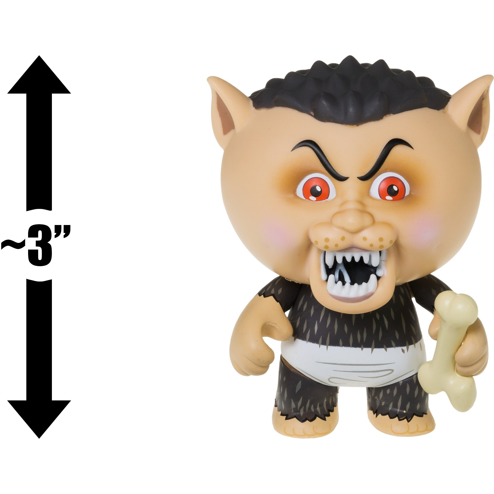 Eerie Eric: ~3'' Garbage Pail Kids x Funko Mystery Minis Mini-Figure Series #2 + 1 FREE GPK Trading Card/Sticker Bundle (108454) by Garbage Pail Kids (Image #3)