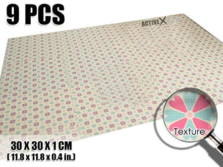 Activecrosss nuovo pezzi giapponese floreale piastrelle di